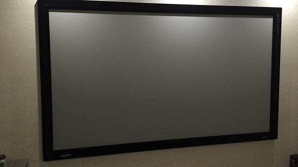Серый экран