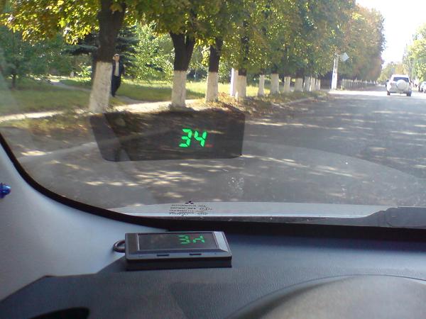 Проектор скорости