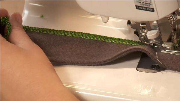 Как шить на оверлоке
