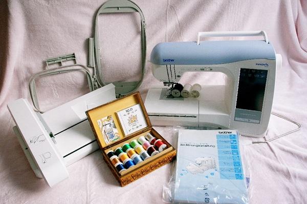 Комплектация швейно-вышивальной техники