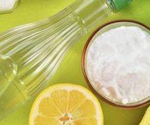 Уксус, лимон и сода