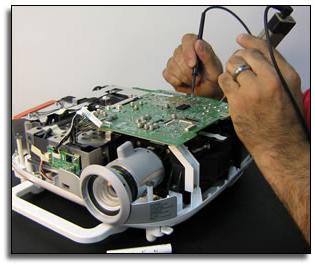Диагностика проектора