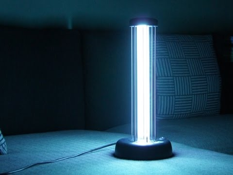 Открытая лампа