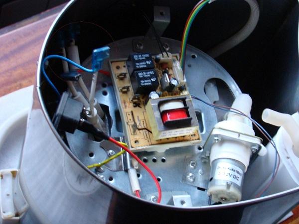 Термопот внутри