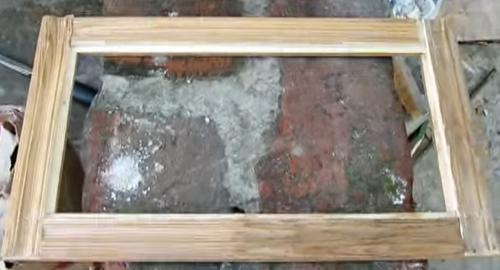Рамка из дерева