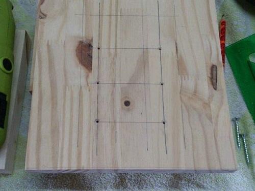 Разметка вертикального блока 2