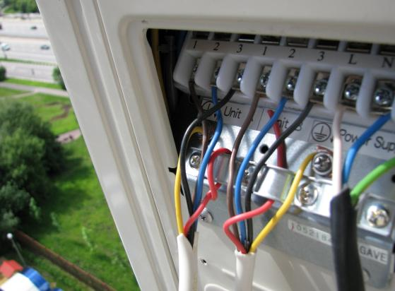 Подключение кондиционера к электросети схема фото 627