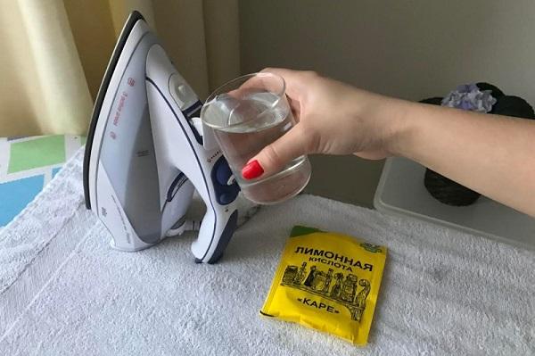 Лимонная кислота от накипи