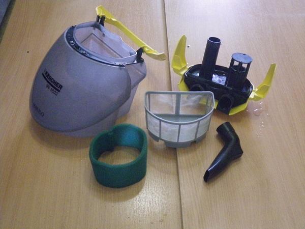 Емкости и насадки пылесоса