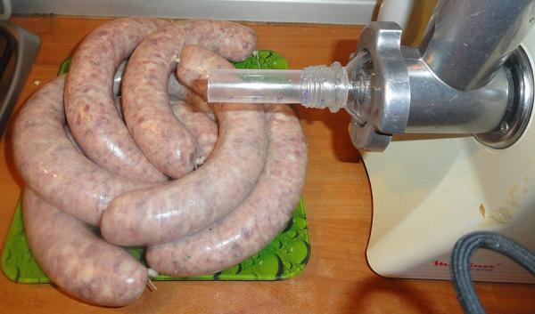 Мясорубка для изготовления колбас