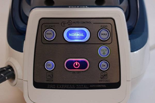 Кнопки-индикаторы на парогенераторе
