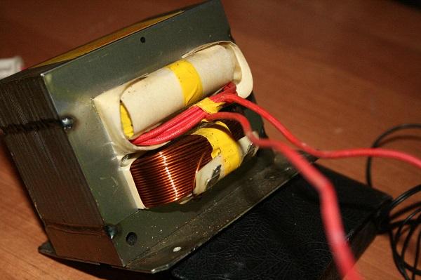 Трансформатор микроволновки