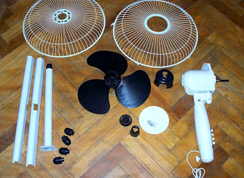 Разобранный вентилятор