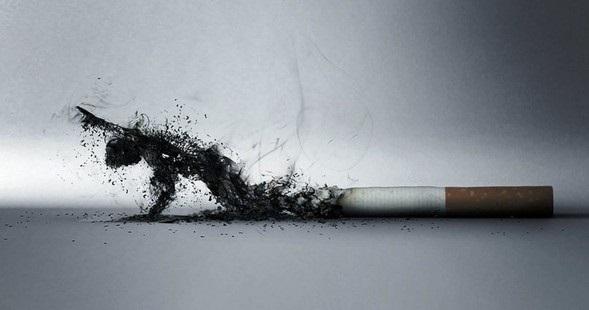 Смолы классической сигареты