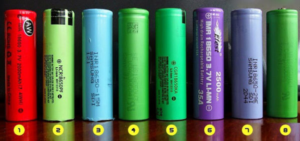 Разновидности аккумуляторов