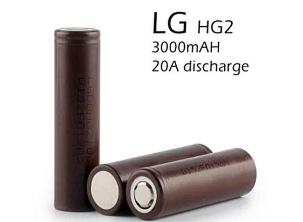 LG аккумуляторы