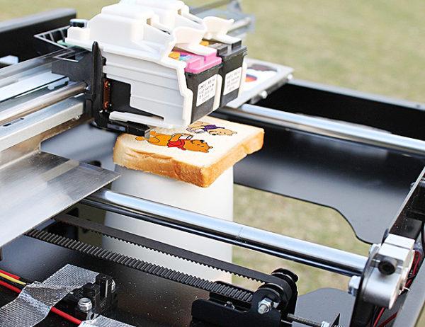Печать на продуктах