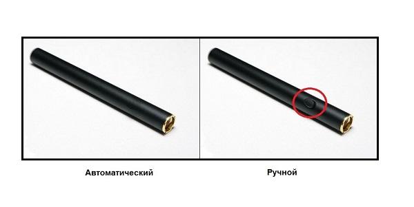Ручная и автоматическая сигарета