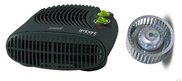 Вентилятор с крыльчаткой радиального типа