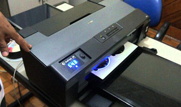 Светодиодная технология печати