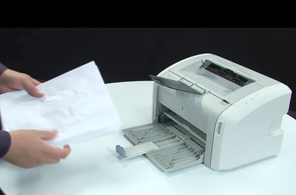 Повреждения бумаги
