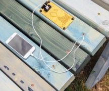 Зарядка телефона от солнца