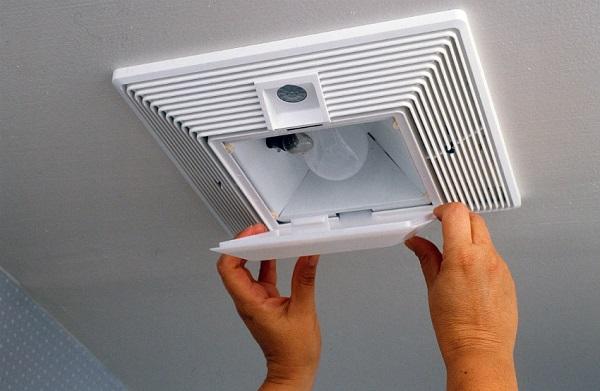 Вентилятор с датчиком движения