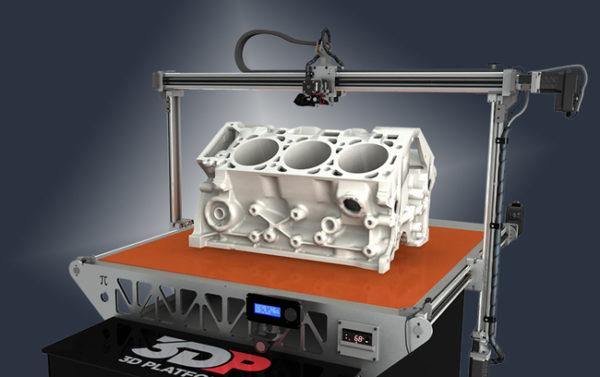 Технология 3D печати 3DP