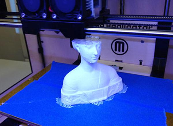 3D печать гипсом