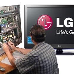 Ремонт наиболее распространенных неисправностей телевизоров LG