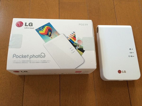 LG Pocket Photo PD239