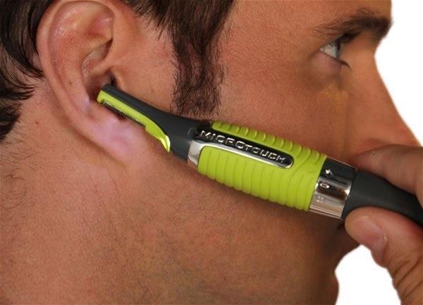 Триммер для стрижки волос в носу и ушах