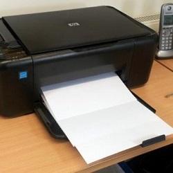 Почему из принтера выходят пустые листы