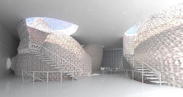 Дизайнерское оформление помещения