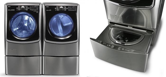 Новая стиральная машина LG Twin Wash