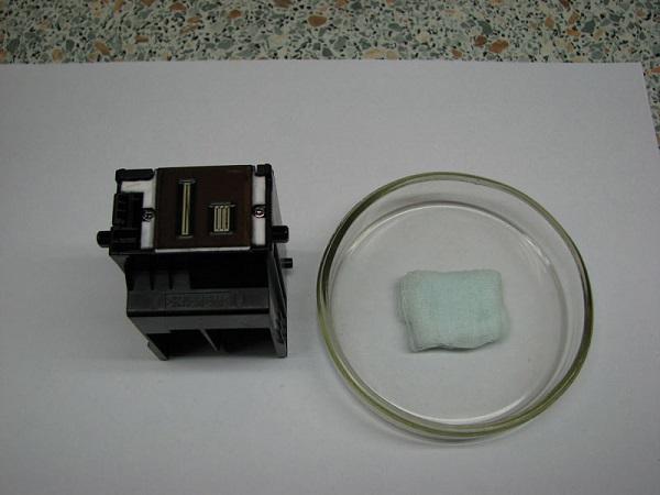 Бинт и печатающая головка