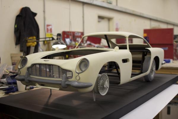 Aston Martin DB4 3D модель