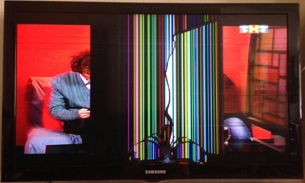 Разбит ЖК-экран