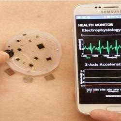 Электронная кожа для лечения людей