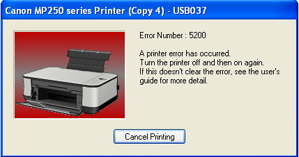 Код ошибки 5200