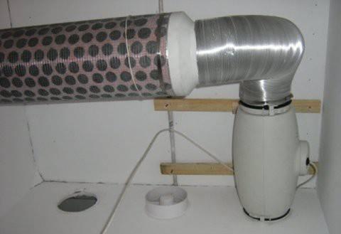 Собранный воздухоочиститель