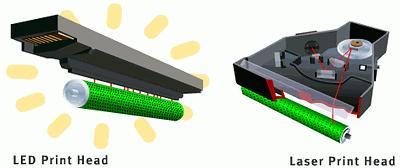 Сравнение лазерного и светодиодного принтера