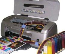 Струйный принтер с картриджем