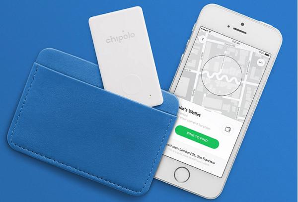 Пластиковая карта Chipolo с Bluetooth-маяком