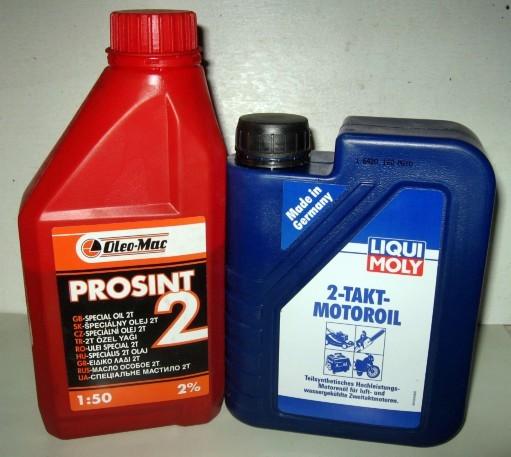 Моторные масла для двухтактных двигателей
