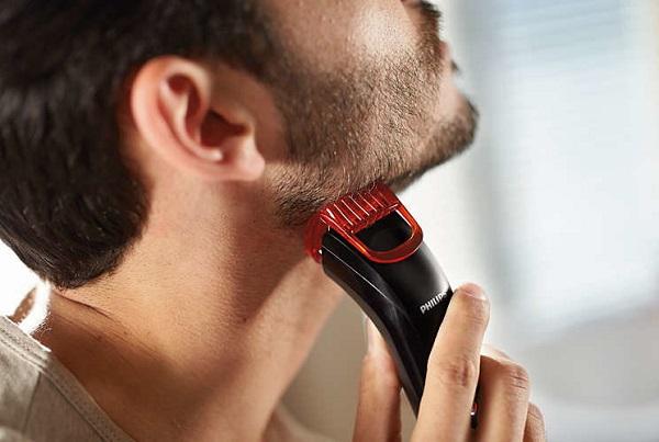 Применение триммера для волос