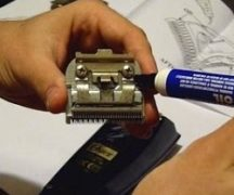 Смазка ножей машинки
