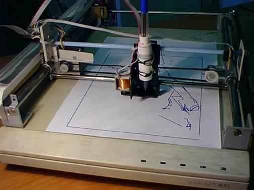 Планшетный графопостроитель