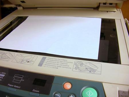 Укладывание бумаги