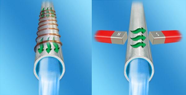 Сравнение магнитной и электромагнитной обработки воды